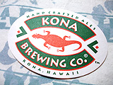 Kona Beer Coaster