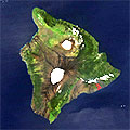 Big Island Sattelite Image from Nasa