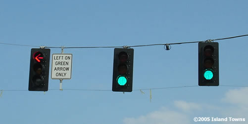 Span Wire Traffic Signals