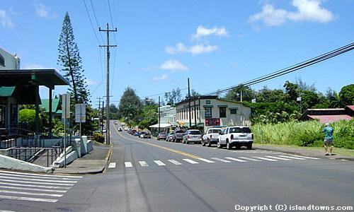 KAPAAU-WATERWORKS RD. INTERSECTION