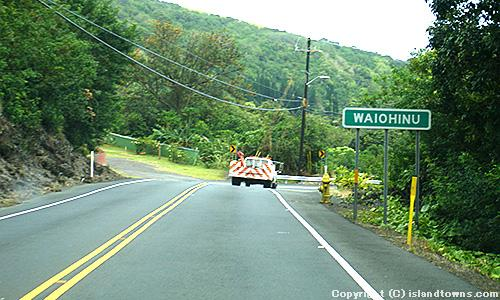 HAWAII BELT ROAD - WAIOHINU